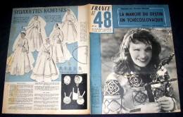 FRANCE 1947/48. 43. COMTESSE ELISABETH. DUBREUIL. PIERRE JOUBERT. JOHANNET - Autres