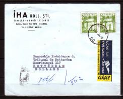 IHA Koll. Stl. R-cover To The President Of The Tribunal (t72) - 1921-... Republic