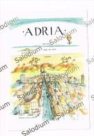 ADRIA - Illustrata - Mongolfiera  -  Rovigo Hot-air Balloon Dirigible Aerostat - Rovigo
