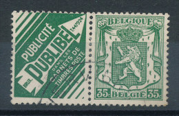 Armoiries 35c Vert Pub Publibel - Advertising