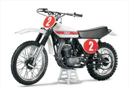 @@@ MAGNET - Yamaha Motocrosser YZ250 Motorcycle - Advertising