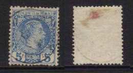 MONACO - CHARLES III / 1885 - # 3 - 5 C. BLEU OBLITERE / COTE 50.00 EUROS (ref T107) - Monaco