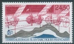 French Antarctic (FSAT), Mapping Satellite Poseidon , 1992, MNH VF  Air Post - Airmail