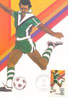 D18356 CARTE MAXIMUM CARD 1983 USA - SOCCER CP ORIGINAL - Soccer