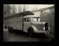 PHOTO - 56 - NEULLIAC - Transports Routiers Postic à Neulliac - Camion Bernard - Automobiles