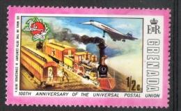 Grenada 1974 - Anniversario Dell' Upu, Anniversary Of Upu MNH ** - Grenada (...-1974)