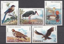 Espagne Mi.nr.:2029-2033 Iberische Tierwelt: Vögel 1973 Neuf Sans Charniere / MNH / Postfris - 1931-Tegenwoordig: 2de Rep. - ...Juan Carlos I