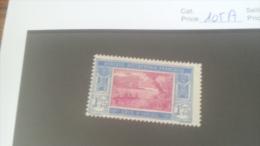 LOT 227163 TIMBRE DE COLONIE COTE IVOIRE NEUF** N�105A VALEUR 17 EUROS