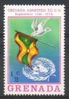 Grenada 1975 - Ammissione All' Onu, Admission To The Onu Bandiera Flag MNH ** - Grenada (1974-...)