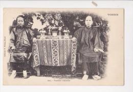 Cpa TONKIN Indochine Viet Nam  Femmes Chinoises 1097 Coll R Moreau - Vietnam