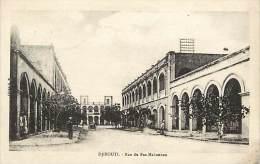Pays Divers- Afrique-ref D63- Djibouti - Rue Du Ras Makonnen - Carte Bon Etat  - - Djibouti