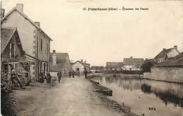 Depts Divers - Allier - Ref T692 - Franchesse - Quartier Des Fosses  - Carte Bon Etat - France