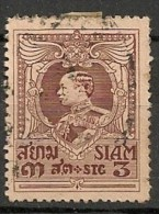 Timbres - Asie - Siam -1920 - 3 S - - Siam