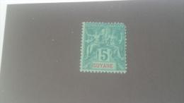LOT 227228 TIMBRE DE ACOLONIE GUYANE NEUF* N�33 VALEUR 14 EUROS