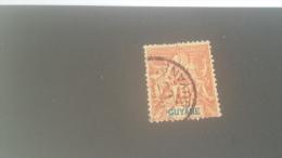 LOT 227231 TIMBRE DE ACOLONIE GUYANE OBLITERE N�39 VALEUR 18 EUROS