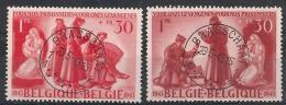 Nrs 623 /624 Oblit/gestp Centrale - Oblitérés
