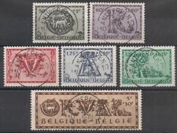 Nrs 625 /630  5de Orval Oblit/gestp Centrale - Oblitérés