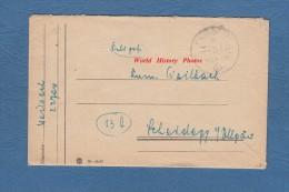 Feldpost Brief - Militaire Allemand - 1944 - WW2 - Cachet Nazi - Alemania