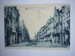 Ostende (Belgique)  Rue Royale - Belgique