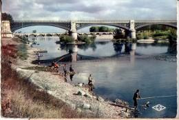 NEVERS: Les Bords De La Loire (pêcheurs) - Nevers