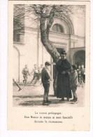 24537 (2 Scans) La Nuova Pedagogia:  Don Bosco In Mezzo Ai Suoi Fanciulli Durante La Ricreazione - Non Classés