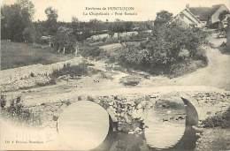 Depts Divers - Allier - Ref T617 -environs De Montlucon - La Chapelaude  - Pont Romain - Ponts - Carte Bon Etat - - Frankrijk