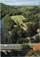 Cpm  Vallee De La Sioule Camping Et Restaurant De L ILE DE ROUZAT - France