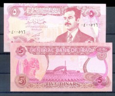 I** * 5 DINAR * P 80 * UNC BANKNOTE