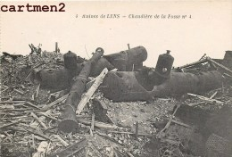 RUINES DE LENS CHAUDIERE DE LA FOSSE N°4 GUERRE - Lens