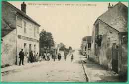Isles Les Meldeuses - Seine Et Marne -  Rue De Lizy Sur Ourcq - Animé - Lizy Sur Ourcq