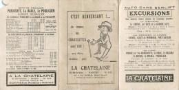 """MAGASIN """" LA CHATELAINE """" LA BAULE NANTES HORAIRES EXCURSION QUIBERON CARNAC VANNES JOSSELIN ST-MALO PORNICHET BERLIET - La Baule-Escoublac"""