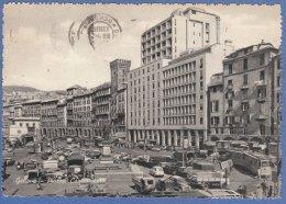 GENOVA  - F/G  B/N Cartonata -Piazza Caricamento   (20809) - Genova