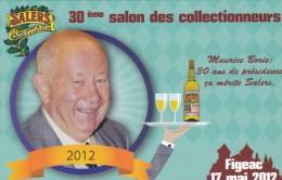 Carte Postale Salon Eurpéen Des Collectionneurs Figeac En Quercy 2012 - Figeac