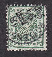 Wurttemberg, Scott #O98, Used, Number, Issued 1890 - Wurttemberg