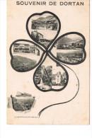 Dorton Carte Souvenir  Représentée Par Un Trefle Photos Multiples - France