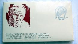 VATICANO 1986 - COMPLETE COLLECTION 17 FDC VISIT POPE JOHN PAUL II IN ASIA AND AUSTRALIA - Collezioni