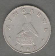 ZIMBABWE 50 CENTS 1990 - Zimbabwe