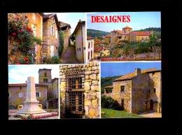 DESAIGNES Ardèche 07 : Multivues Aspects De La Ville  1992 - France