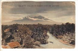GOOD OLD INDONESIA POSTCARD - BOGOR / Buitenzorg - Salak & River View - Indonesia