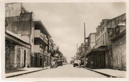 POINTE A PITRE  Rue Boisneuf -carte Photo -1955 Automobiles - Pointe A Pitre