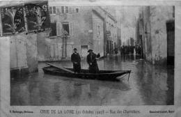 Crue De La Loire : Rue Des Charretiers - Orleans