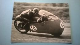 Dickie Dale Su Moto Guzzi 350 Cc. - Moto