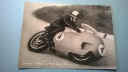 Giuseppe Colnago Su Moto Guzzi 500 C.c. 8 C. - Moto