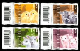 SVIZZERA / HELVETIA 2013** - Animali Da Fattoria - 4 Val. MNH (set Completo) Come Da Scansione - Fattoria