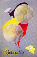 Dépliant Brochure - Pub Reclame Service Télégraphique Belradio -  Expo Brussel 1958 - Unclassified
