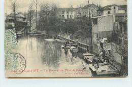 JOINVILLE LE PONT  - Une Bonne Pêche Canal De Polangis. - Joinville Le Pont