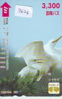 Carte Prépayée Japon* OISEAU (3626)   BIRD * JAPAN Prepaidcard * Vogel KARTE - Birds