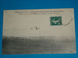 """92) Issy-les-moulineaux - Champ D'aviation - BERGI Sur Son Biplan """" Voisin """" - Année  - EDIT- ELD - Issy Les Moulineaux"""