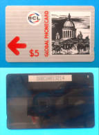 BCL - GLOBAL PHONECARD St. Petersburg ( Russia - Old GPT Magnetic System Card ) * Code 80BCUA * Russie - Russia