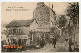 Paris Montmartre - Angle Rue De La St Vincent Et La Rue Des Saules - Cabaret Des Assassins -  Paris 18  -  Photographe - Distrito: 18